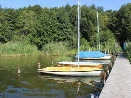 Großes sonniges Grundstück nebst Holzhaus in ruhiger Lage nah am See in Caputh