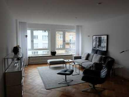 Exklusiv möblierte helle 3-Zimmer Wohnung in MA-Schwetzingerstadt/Oststadt