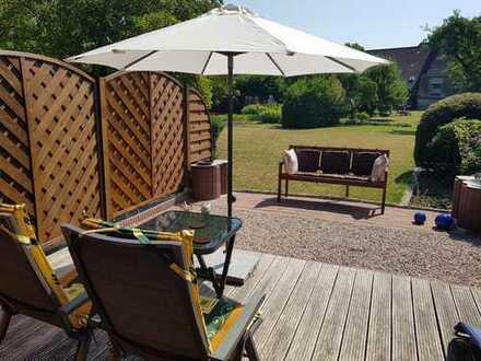 Hier könnten Sie bald sitzen! Schönes Reihenmittelhaus in Budjadingen zu verkaufen! Strandnah!