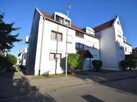 Kurzfristig beziehbar! - 2-Zimmer-Wohnung in zentrumsnaher Wohnlage in Aulendorf