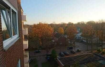 Hell mit einem Superschnitt 2-Zimmer-Wohnung (68 qm) mit Balkon & EBK in der Kleefelder Gartenstadt