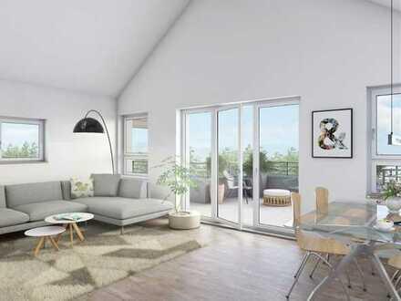 Neubau Projekt, Hochwertige 3,5 Zimmer DG Penthouse Wohnug in Sinsheim-Hoffenheim