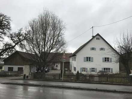 Grundstück mit Bestand (Hofstelle) zu verkaufen