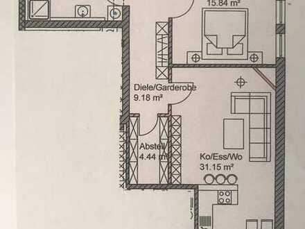 Barrierefreie 2,5 Zimmer 68,53qm im EG mit Stellplatz vor der Tür