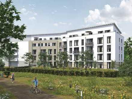 Aparte Wohnung am Park mit Balkon, 3½ Zi, KB, Erstbezug