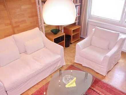 Möbliert/ 2 Zimmer Wohnung/ Tel.-u. Internet/Pauschalmiete 1.305,00 Euro / ab sofort frei