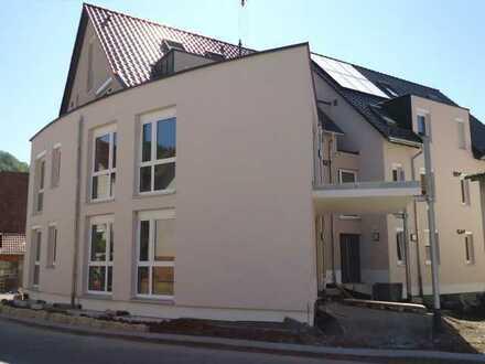 1417 - Exklusiver Neubau! Barrierefreie 4 Zi.-WHG im EG mit moderner Küche, großer Terrasse u. TG!
