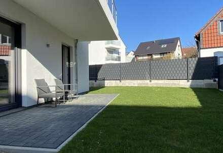Erstbezug! - helle 2-Zimmer-Wohnung mit Terrasse & Garten