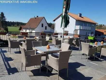 Gasthof mit Biergarten und zwei großen Wohnungen in toller Lage für Einwohner und Touristen 