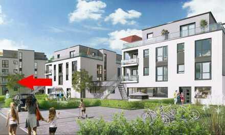 Quadratisch, praktisch, gemütlich - Elegante 1-Zimmer-Neubau-Wohnung