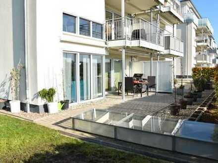 85 qm Erdgeschosswohnung - 3 ZKB, Terrasse und Balkon, Stellplatz in Tiefgarage ab 01.12.2019*