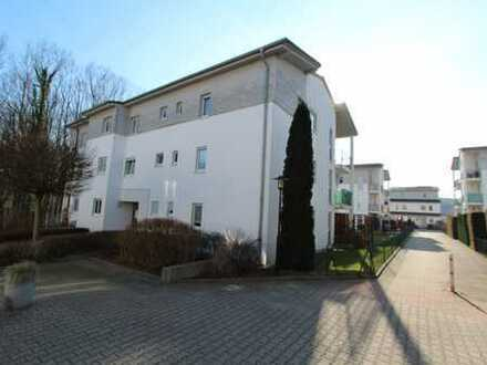 Vermietete Maisonette-Wohnung am Stadtpark mit Terrasse und Gartenanteil