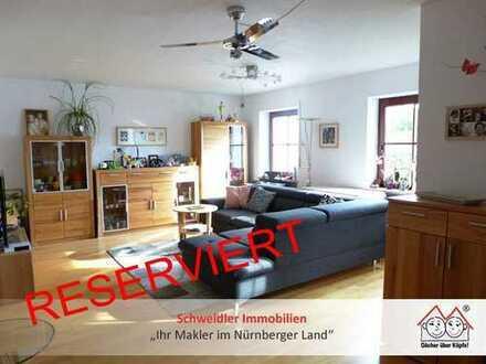 Familien aufgemerkt!!! Tolle 4-Zimmer-ETW mit Sonnenbalkon & mehr in Lauf-Wetzendorf