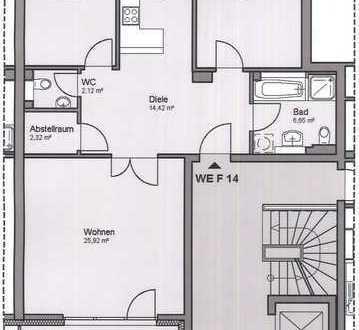 Kaltenkirchen: 3-Zimmer-Wohnung in zentraler Lage !