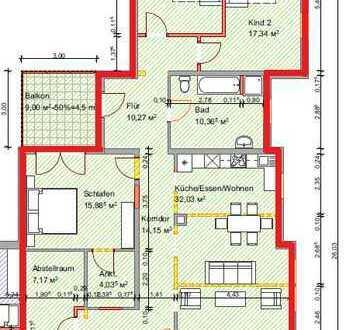 Erstbezug 152qm Wohnung, provisionsfrei zu vermieten ab 01.01.2020