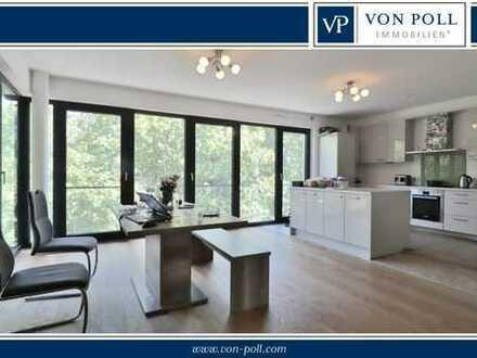 Moderne Vier-Zimmer-Wohnung in Innenstadtlage