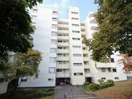 3-Zimmer-Wohnung im 6.OG eines gepflegten Mehrfamilienhauses mit 2 Balkonen