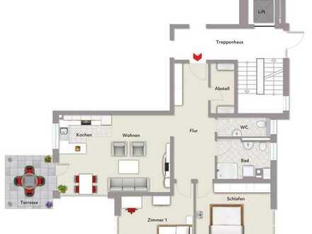 Geräumige 3,5 Zimmer-Wohnung in Frittlingen
