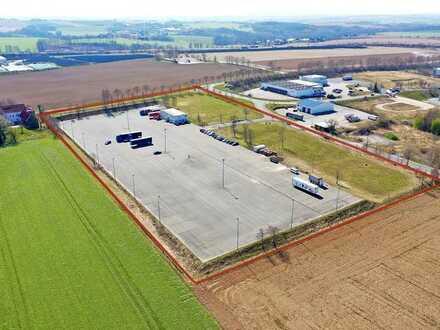 35.000 m² GEWERBEGRUNDSTÜCK MIT ODER OHNE HALLEN DIREKT AN DER AUTOBAHN - NÄHE LEIPZIG & DRESDEN