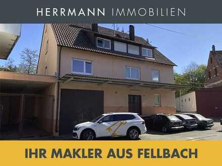 Vermietetes Mehrfamilienhaus mit Schrauber-Paradies (Werkstatt) - über 4,5 % Rendite