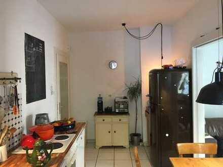 Dreimühlenviertel, 2-Zimmer, Küche, Bad, Balkon, Anfang Januar bis Ende März 2019 zur Untermiete