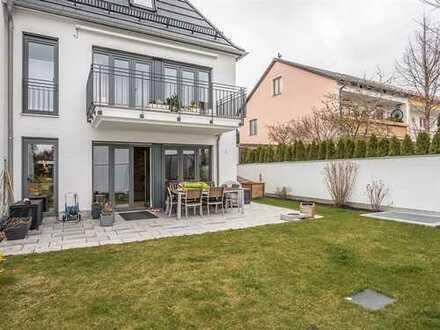 NOTARTERMIN! Luxuriöse und stilvolle 4 Zimmer Gartenwohnung in Germering-Harthausen