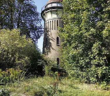 ehem. Bahnobjekt mit Wasserturm in Arnstein (bei Aschersleben)
