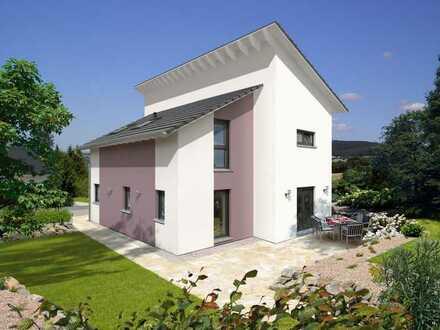 Topp Designhaus mit versetztem Pultdach in Bestlage !