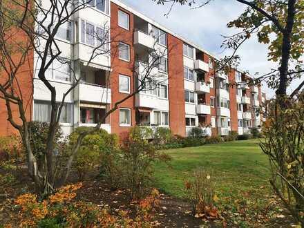 Gemütliche 2 Zi. Wohnung mit Balkon in grüner Lage