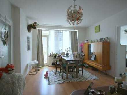 2-Zimmer Wohnung mit Balkon im Frankenberger Viertel.