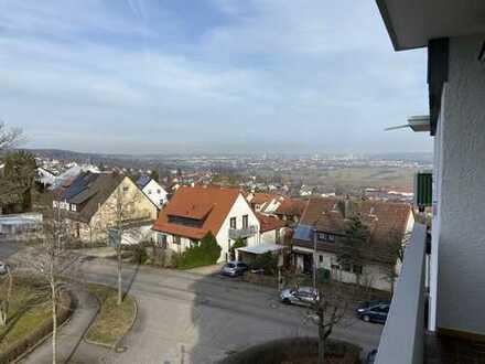 Helle, freundliche 3–Zimmerwohnung mit Ausblick in Stetten