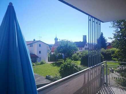 Sonnige 3-Zimmer-Wohnung in Allensbach ab 1. Oktober zu vermieten.