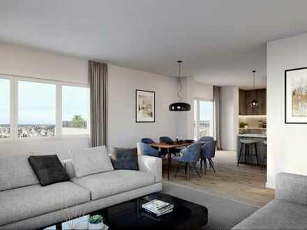 Optimal für Familien: Helle 4-Zimmer-Wohnung mit 2 Dachterrassen mit guter Infrastruktur in Umgebung