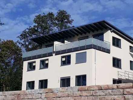 Erstbezug: Doppelhaushälfte mit 5 Zimmer und Dachterrasse mit Fernblick in Nußloch