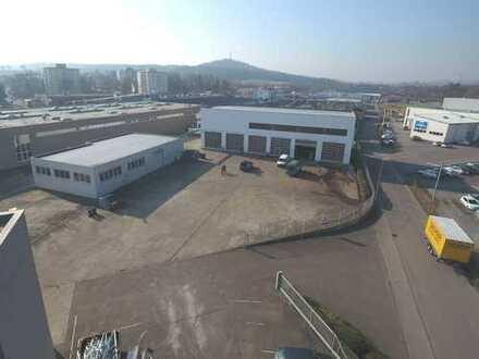 Sinsheim - 681 m² Werkstatthalle mit 2 Krananlagen 10to und 1,6to und Waschhalle für LKW