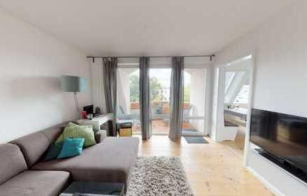 2-Zimmer-Wohnung inklusive TG-Stellplatz im Herzen von Lichtenberg zur Eigennutzung