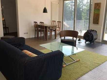 Exklusive, möbilierte 2,5-Zimmer-Loft-Wohnung mit EBK und Balkon in Aichhalden