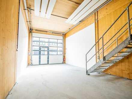 Individuelle Arbeitsräume für Entwicklung, Werkstatt, Produktion, und mehr.