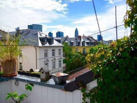 Dachstudiowohnung im Frankfurter Westend