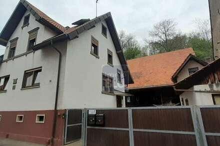 Bauplatz mit freist. 2-Familien-Vorderhaus, Hof, Nebengebäude,....