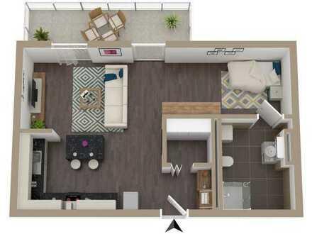 Attraktives Appartement mit Balkon und hoher KfW Förderung (48.000 €)