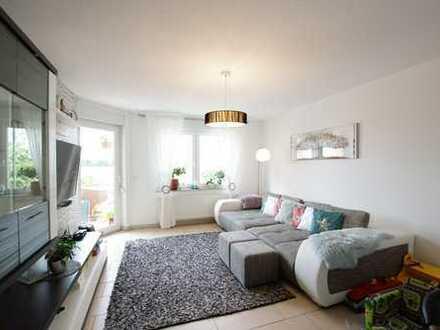Wohnung auf zwei Etagen mit Garage, Balkon und Brockenblick in Broistedt