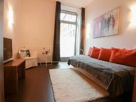 Perfekte Kapitalanlage: vermietetes möbliertes 1-Zi- Apartment auf der ERBA-Insel