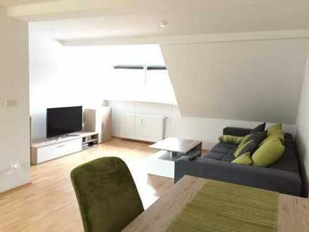 DG-Wohnung, neue EBK, renoviert, ruhige Lage, großer Garten
