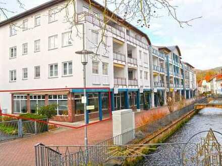 Exklusives Ladenlokal in bester Lage von Bad Orb für Snack-Gastronomie oder Einzelhandel