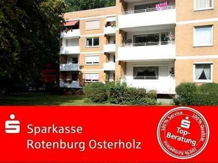 Blockdiek: Stadtnah und dennoch mit Blick ins Grüne - 3 Zimmer-Wohnung mit 87 qm Wohnfläche