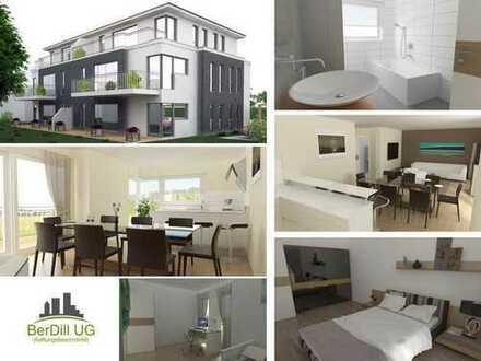 Exklusive Neubau-Wohnung mit großem Balkon und Garage in Wiesensteig