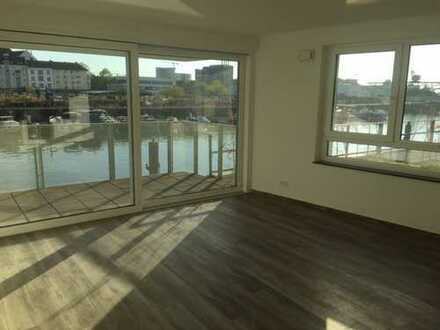 Wunderschöne, helle, großzügige 3-Zimmerwohnung auf der Hafeninsel abzugeben