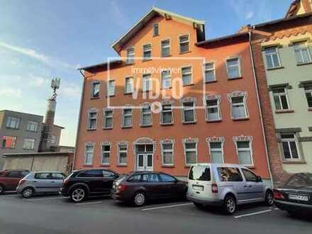 2-Zimmer-Wohnung, Küche und Bad mit Fenster, Abstellraum, 2. OG, WE 6, Sodenstraße 2