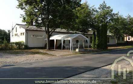 Immobilie bei Neuruppin z.Z. Gaststätte mit Saal (incl. weiterem Bauland)